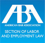 Logo Recognizing Manfred F. Ricciardelli Jr., LLC's affiliation with the American Bar Association Section of Labor and Employment Law